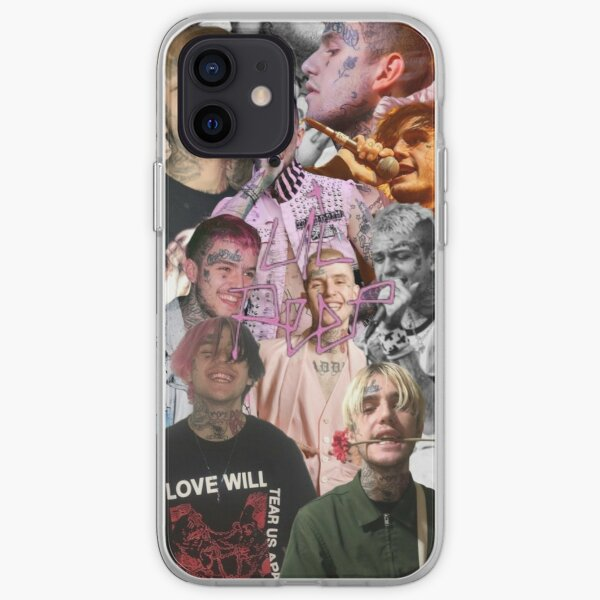 Lil Peep Collage iPhone Soft Case