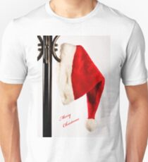 Merry Christmas Santa Hat T-Shirt