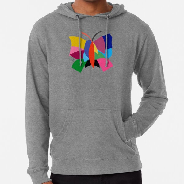 Abstract Butterfly Lightweight Hoodie