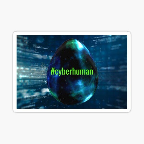 #cyberhuman Sticker