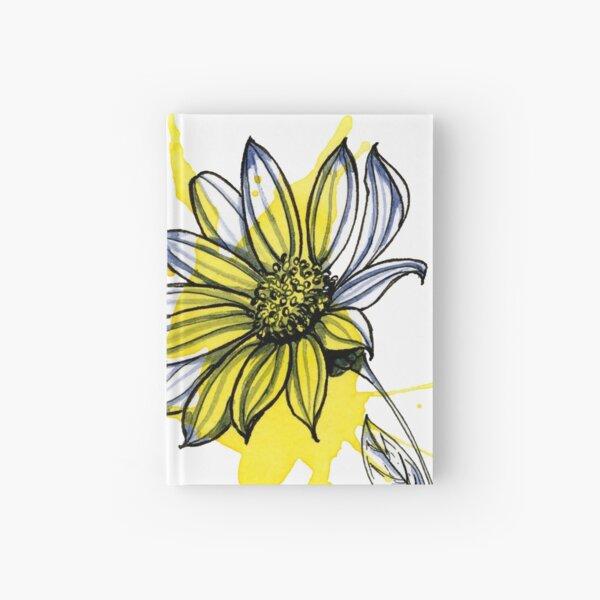 Daisy Flower Hardcover Journal