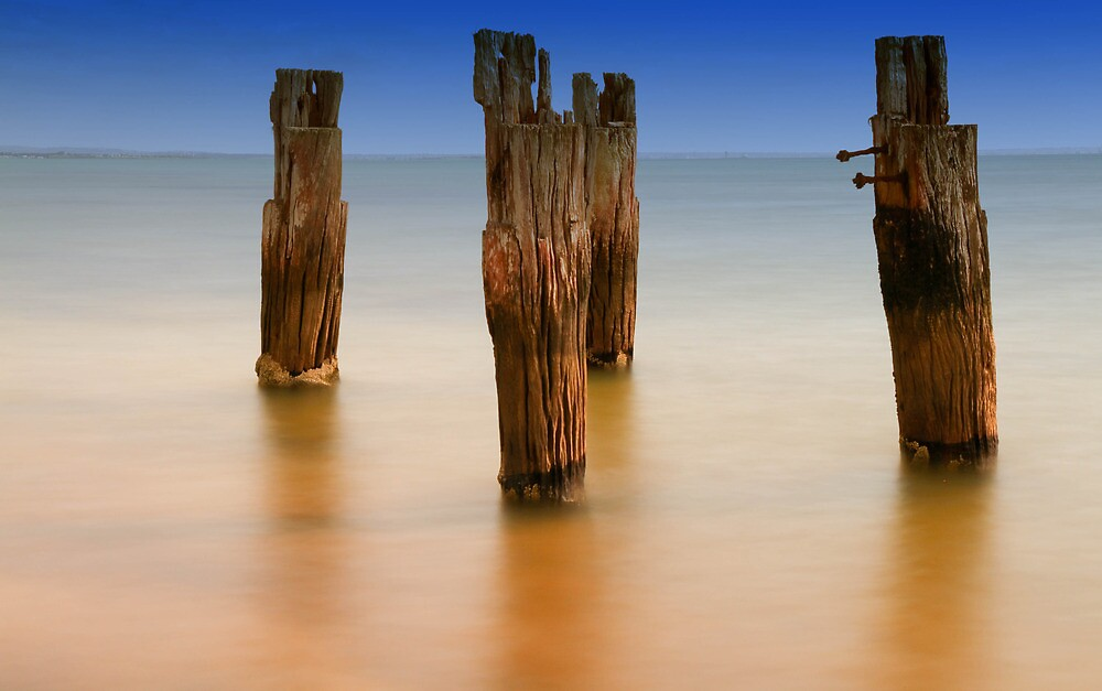 Clifton springs Old Pier by Mark Bilham