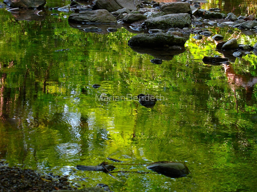 Gentle ripples of green by MarianBendeth