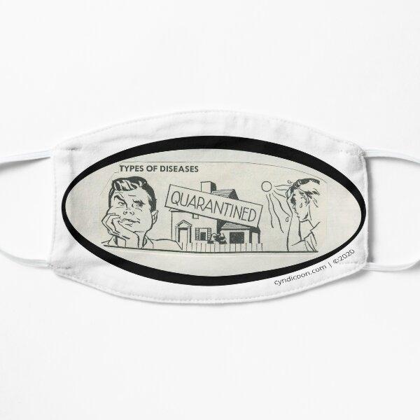 Encyclopedia Series Stickers - Quarantined Flat Mask
