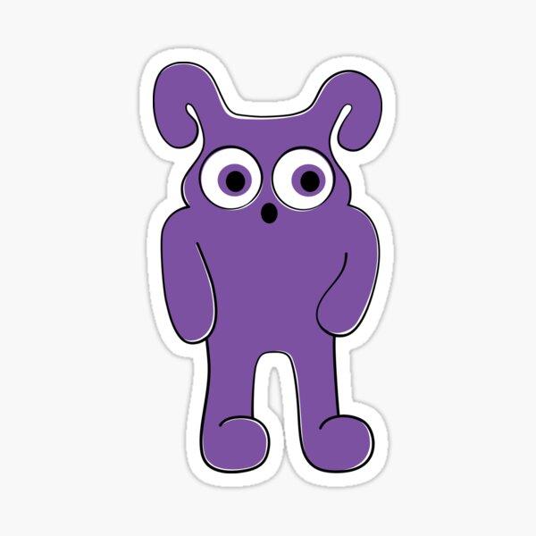 Wide Eyed Monster Sticker