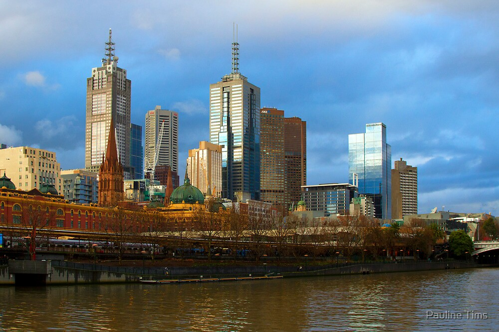A winter's day in Melbourne by Pauline Tims