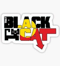 That Black Cat Sticker