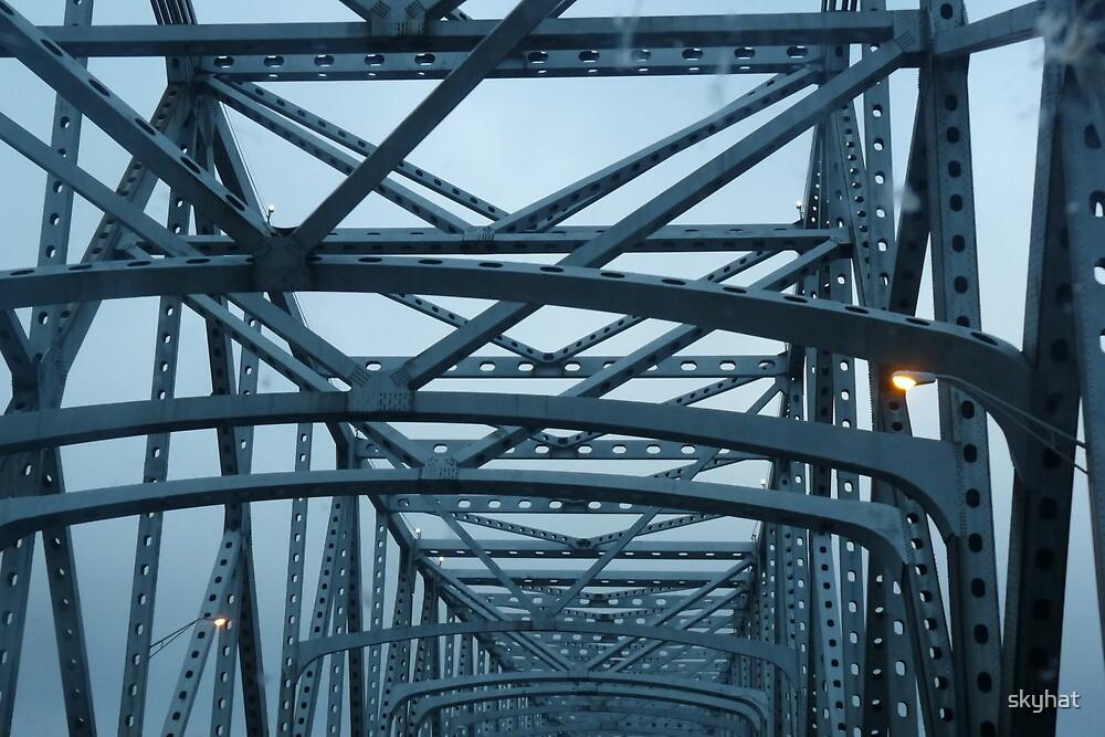 Baton Rouge Bridge by skyhat
