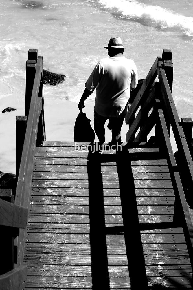 boardwalk man by benjlynch