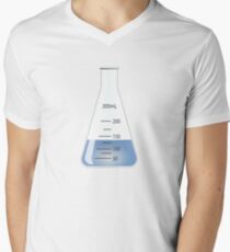Beaker Men's V-Neck T-Shirt