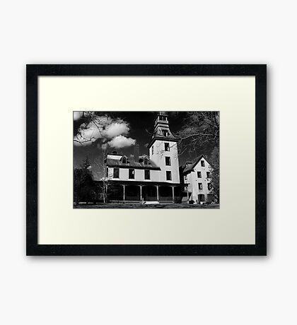 Untitled - Batso Village Framed Print