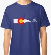 Colorado Flag Cyclist Classic T-Shirt