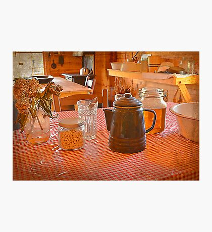 Fresh Honey On The Table Photographic Print