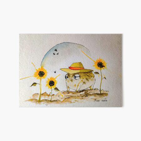 Farmer Tad Art Board Print