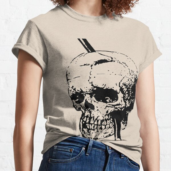 Skull of Phineas Gage With Tamping Iron Classic T-Shirt