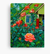 Arlinda's House Canvas Print