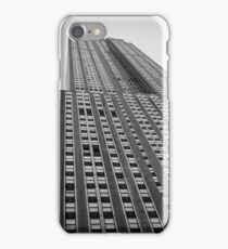 The Empire State Building From Below iPhone Case/Skin