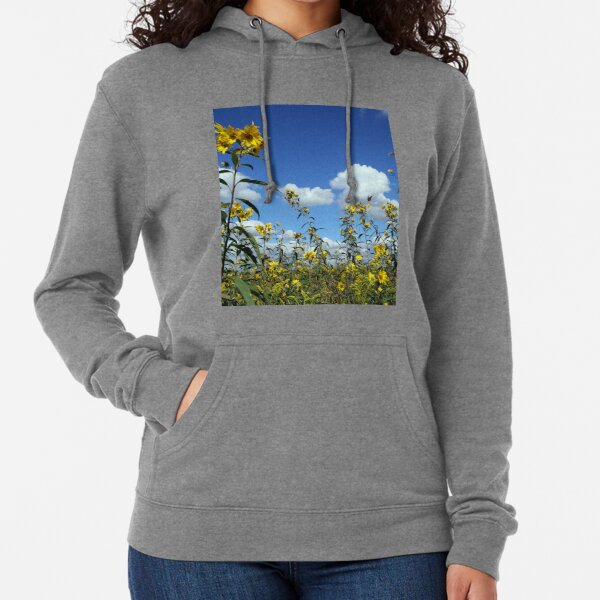 Tickseed and Monarch Lightweight Hoodie