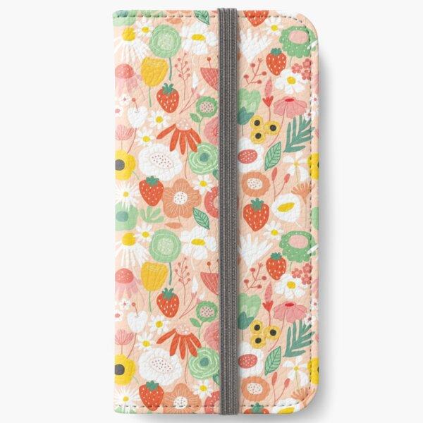 Midsummer floral bliss iPhone Wallet