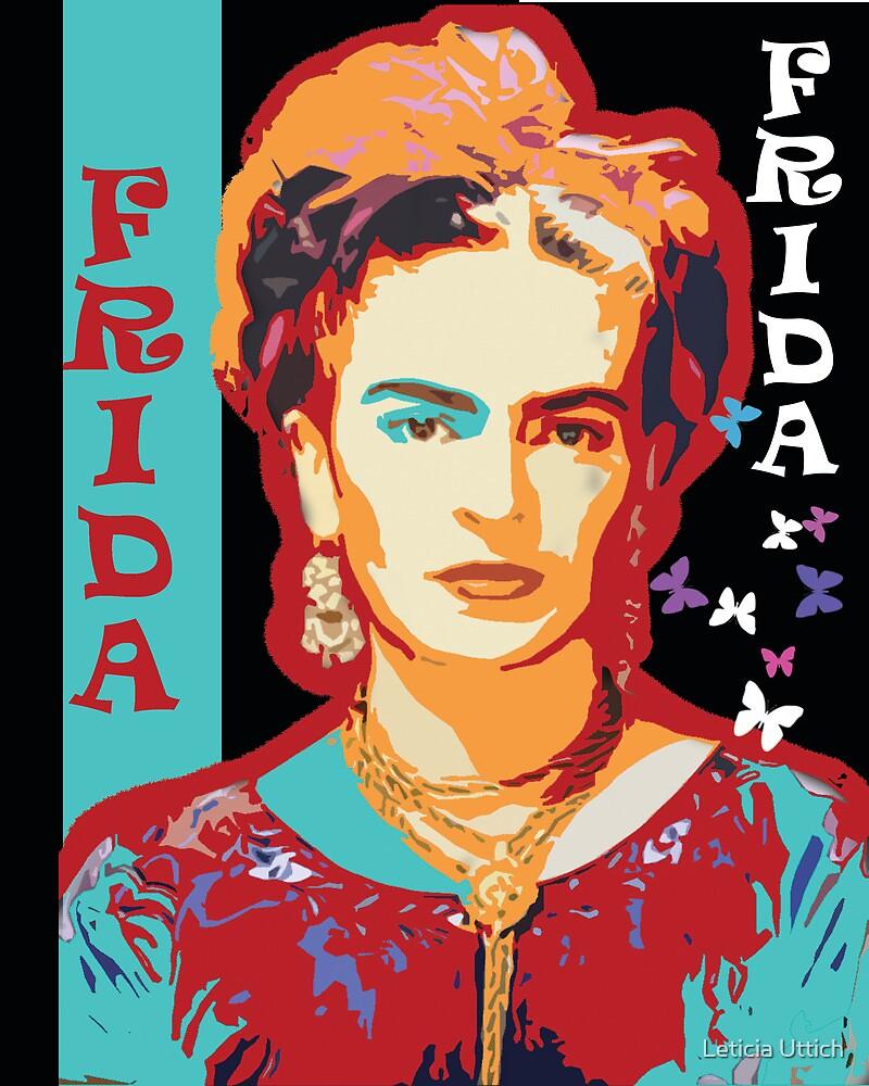 Digital Frida by Leticia Uttich