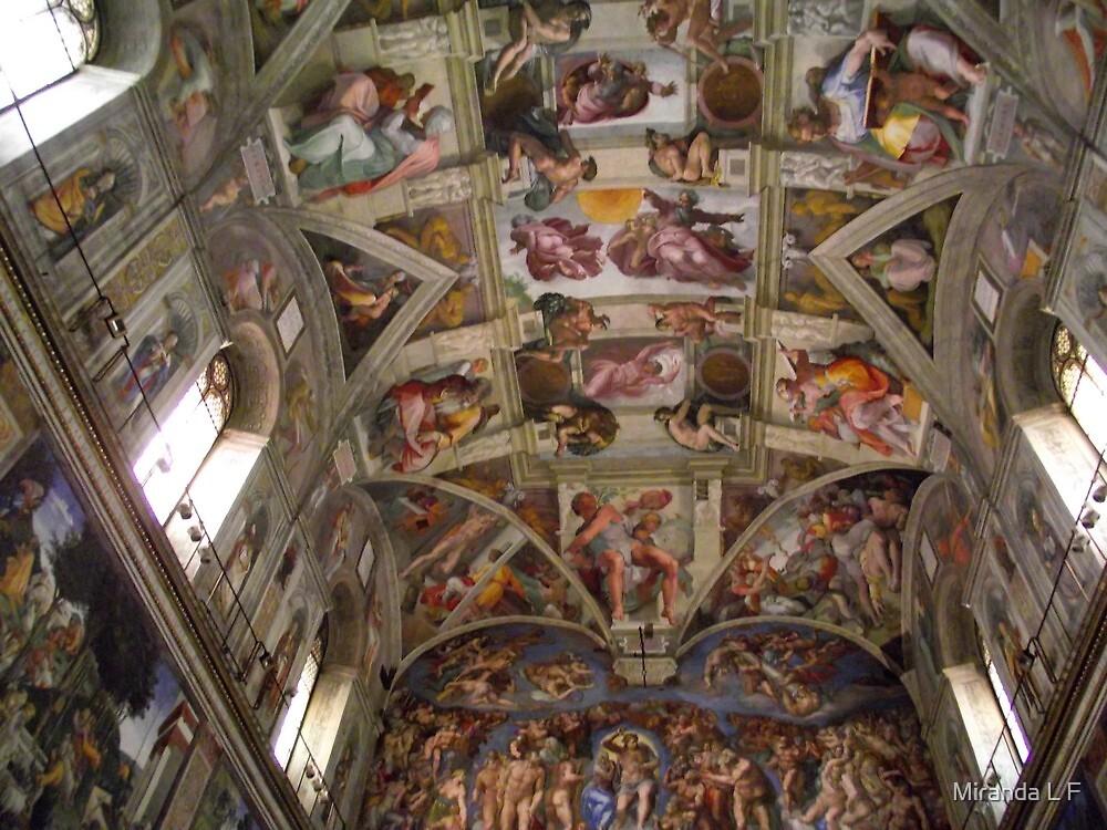 soffitto della Cappella Sistina by Miranda L F