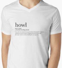 Howl - T-shirt Men's V-Neck T-Shirt