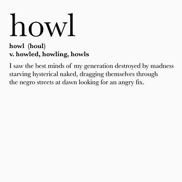 Howl - T-shirt by samkrauser