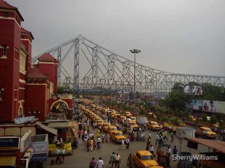 Howrah station, Kolkata by SherryWilliams