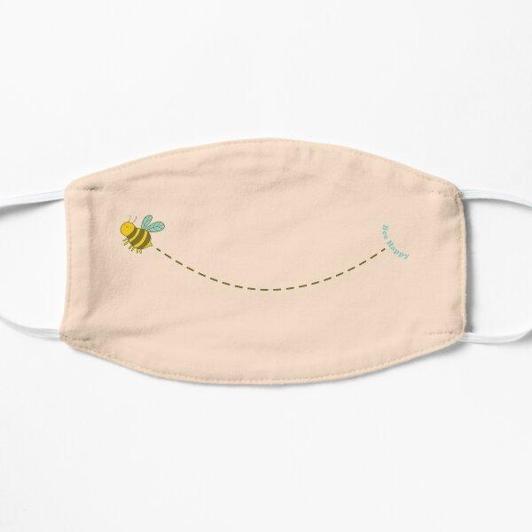 Bee Happy Flat Mask