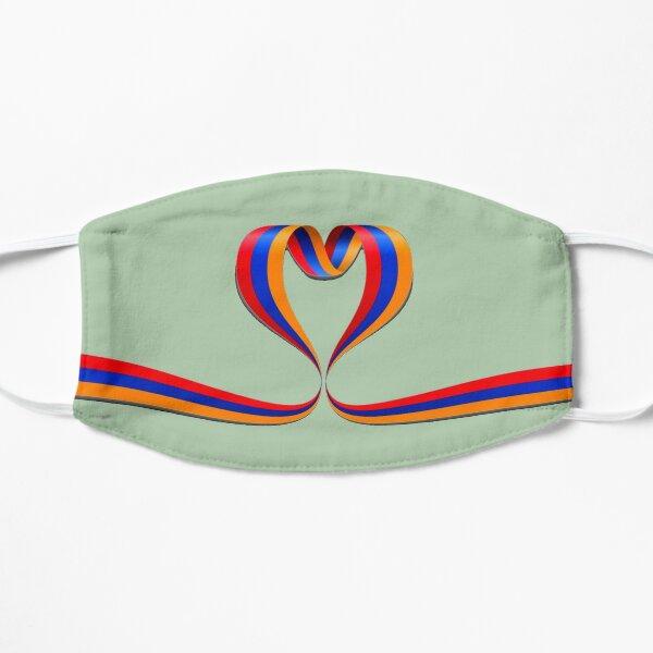 Armenian Heart Flat Mask