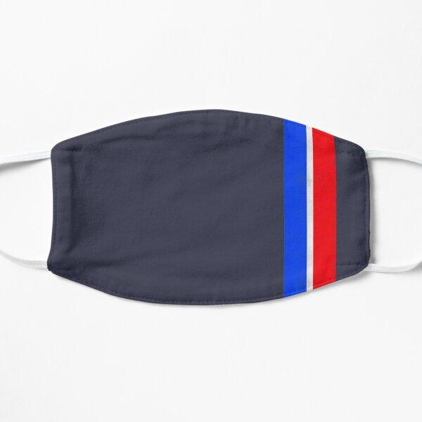Death Stranding Bridges - Grunge Style Red White and Blue Stripe Masque sans plis