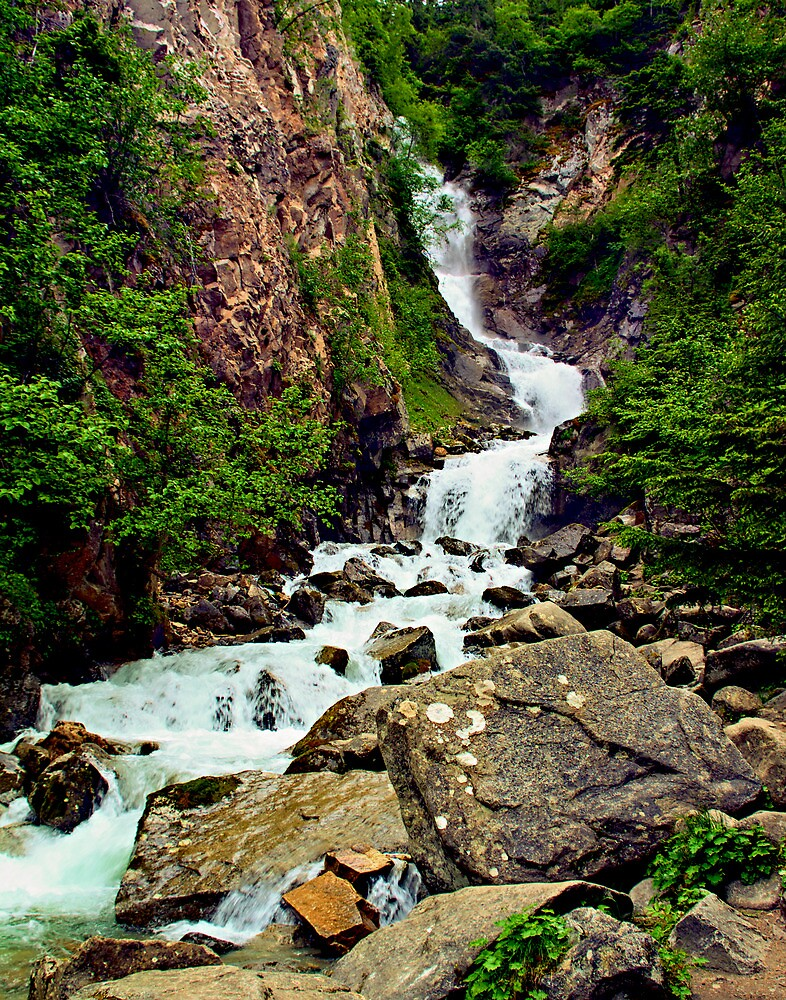 Reid Falls in Skagway by Yukondick