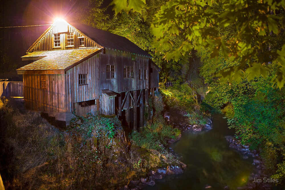 Cedar Creek Grist Mill by Jim Stiles
