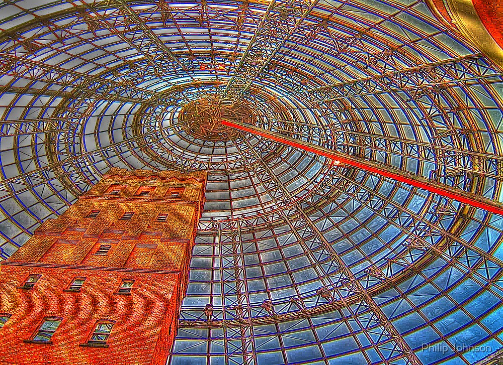 Coops Shot Tower Series #3 c1888 - Melbourne, Australia - The HDR Experience by Philip Johnson