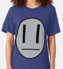 Dib's emotocon shirt Slim Fit T-Shirt