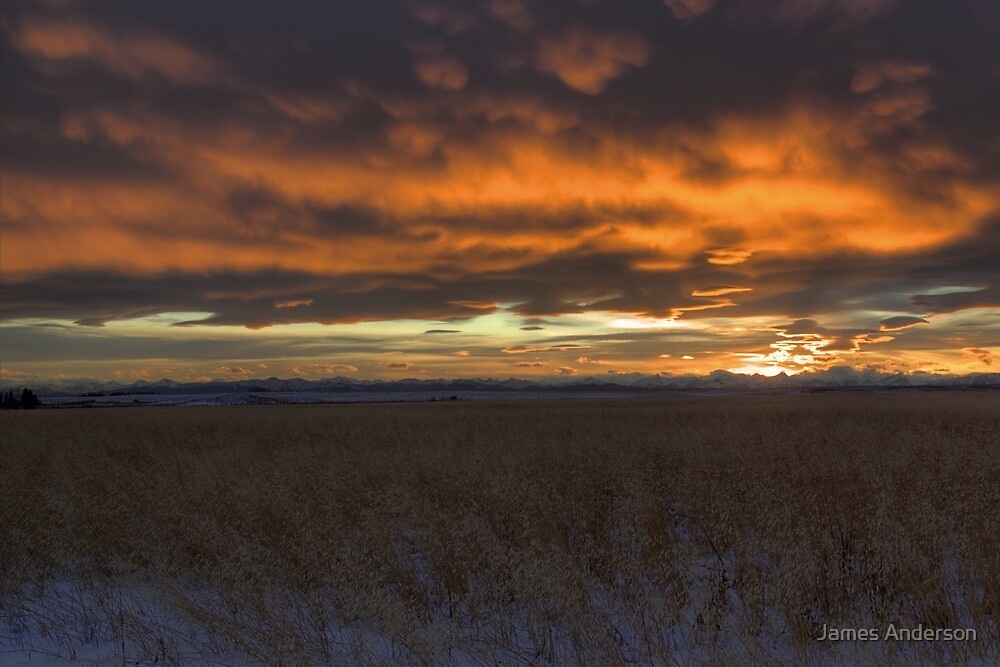 Sunset Chinook by James Anderson