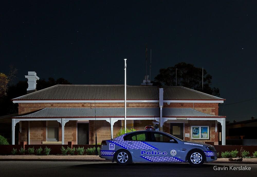 Port Germein Police Station by Gavin Kerslake