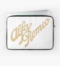 Alfa Romeo script in GOLD Laptop Sleeve
