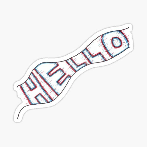 HELLO by MayBoArts Sticker