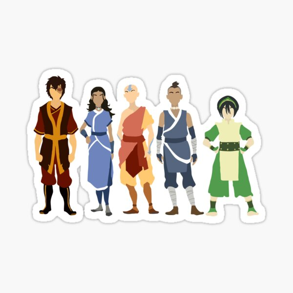 Avatar The Last Airbender Crew Sticker