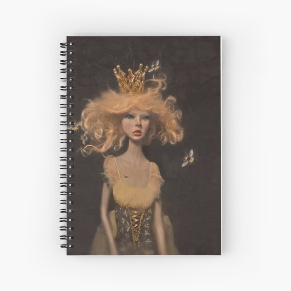 The Bee Queen Spiral Notebook