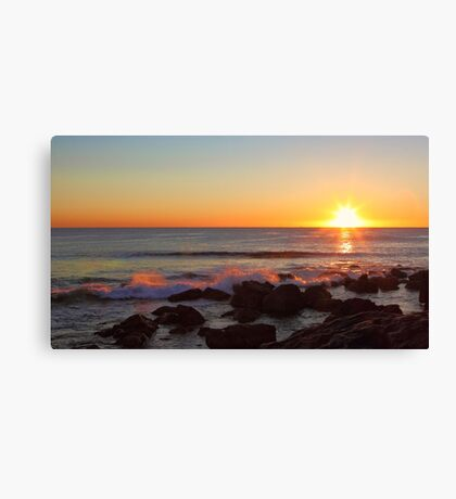 Shelly Beach Sunrise Canvas Print