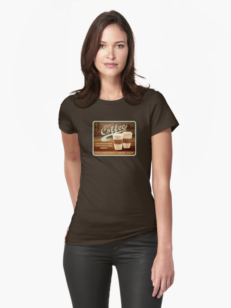 Castle's Coffee T-Shirt by Sarah  Mac