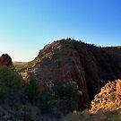 Early Morning Glen Helen Gorge  by Bill  Robinson