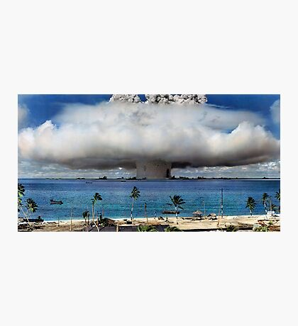 Colorized Operation Crossroads Baker, Bikini Atoll,1946 Photographic Print