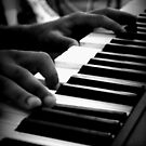 Chambers Cafe - Playing The Piano by rsangsterkelly
