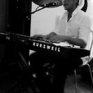 Chambers Cafe - Playing The Piano 2 by rsangsterkelly