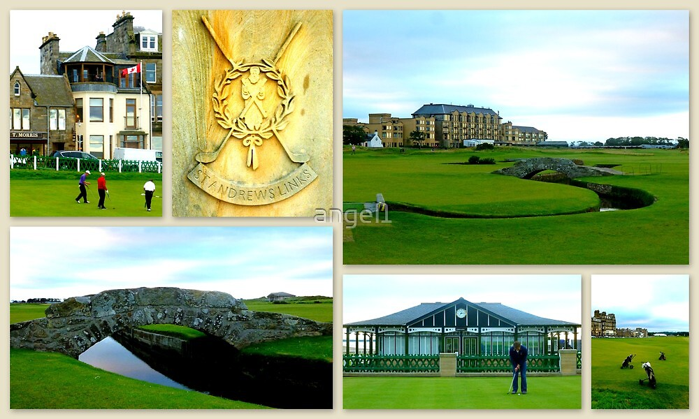 St. Andrews Links by ©The Creative  Minds