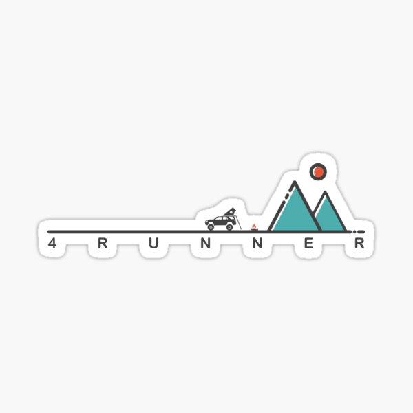 5th Gen 4runner Overland Camping  Sticker