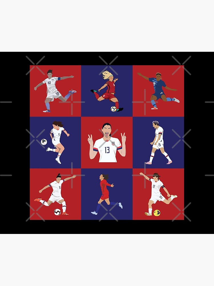 USWNT Players Brady Bunch Style  by Hevding